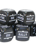 Bolt action orders dice packs - black?