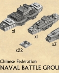 Chinese federation naval battle group?