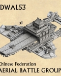 Chinese federation aerial battle group?