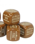 Bolt action orders dice packs - brown?