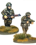 British airborne flamethrower and sniper teams?