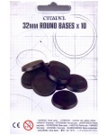 Citadel 32mm round bases x10?