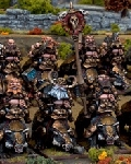 Dwarf brock riders regiment?