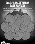 30mm Grassy Fields Resin Base Toppers x10?