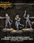 Black 13th strike force?