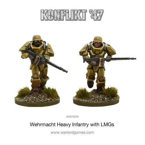 Heavy INfantry with LMGs?