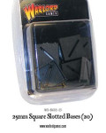 20mm square slotted base