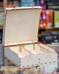 Pudełko drewniane / organizer na karty