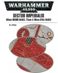 SECTOR IMPERIALIS: 60 & 75/90MM OVAL BASES?