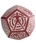 Kość Trafienia 12 ścian - Czerwono-biała