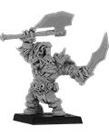 Brazhag, Orc Warlord with Two Axes?