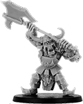 Buggrom of Ulmo, Orc Warlord with Great Axe on Foot?