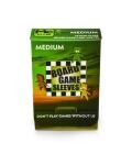 Non-glare board game sleeves MEDIUM 57x89