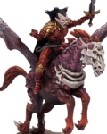 Undead vampire lord on pegasus?
